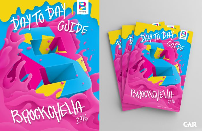 The Official Car - Brockchella Guide Artwork Cover | (Chris Austin Ross)