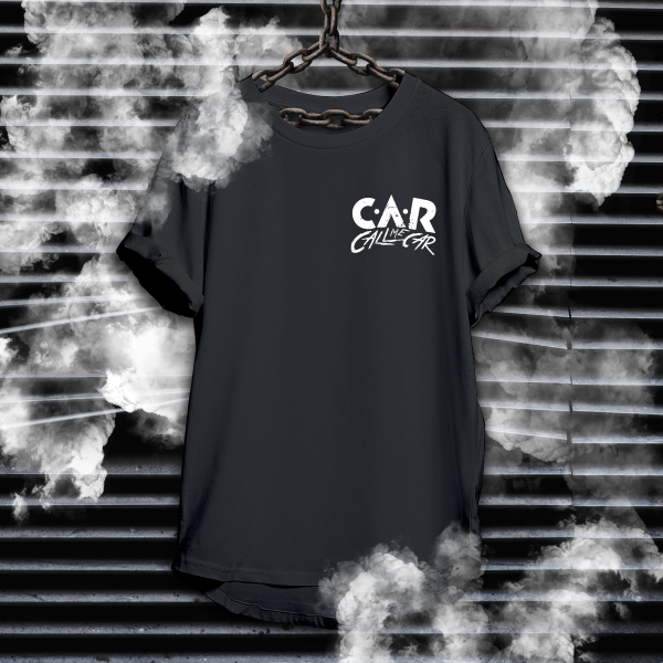 The Merch Factory | Car Black Tee